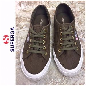 Superga 2750 Cotu Sneakers, Olive